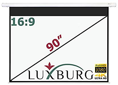 Luxburg® Luxburg Motor Leinwand 203×115 cm – Good product and assistance service efficient and very friendly.